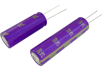 Electric double layer capacitors offer low resistance & guaranteed long life