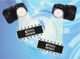 High power drivers for commercial LEDs boost performance
