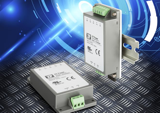 Chassis or DIN rail mount converters are fully encapsulated