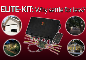 Control solution kit for all outdoor home automation