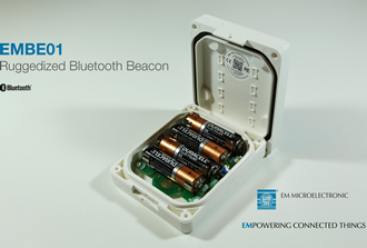 Ruggedized Bluetooth beacon with long battery life