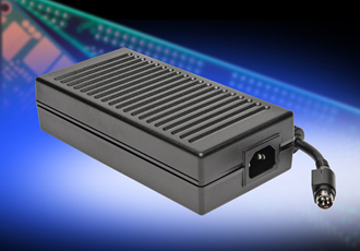 External 165W power supplies fulfil medical standards