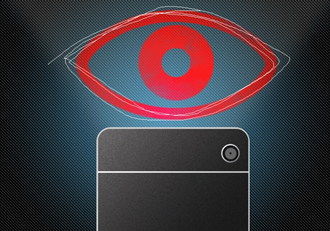 Eye-tracking system uses ordinary smartphone camera