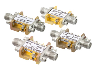 RF frequency dividers offer broadband coverage from 0.5-18GHz