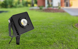 35W IP66 rugged outdoor flood lights operates in -40°C