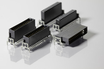 Miniature connectors for mechanically demanding applications