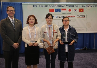 "IPC crowns ""World's Best"" Hand Solderer"