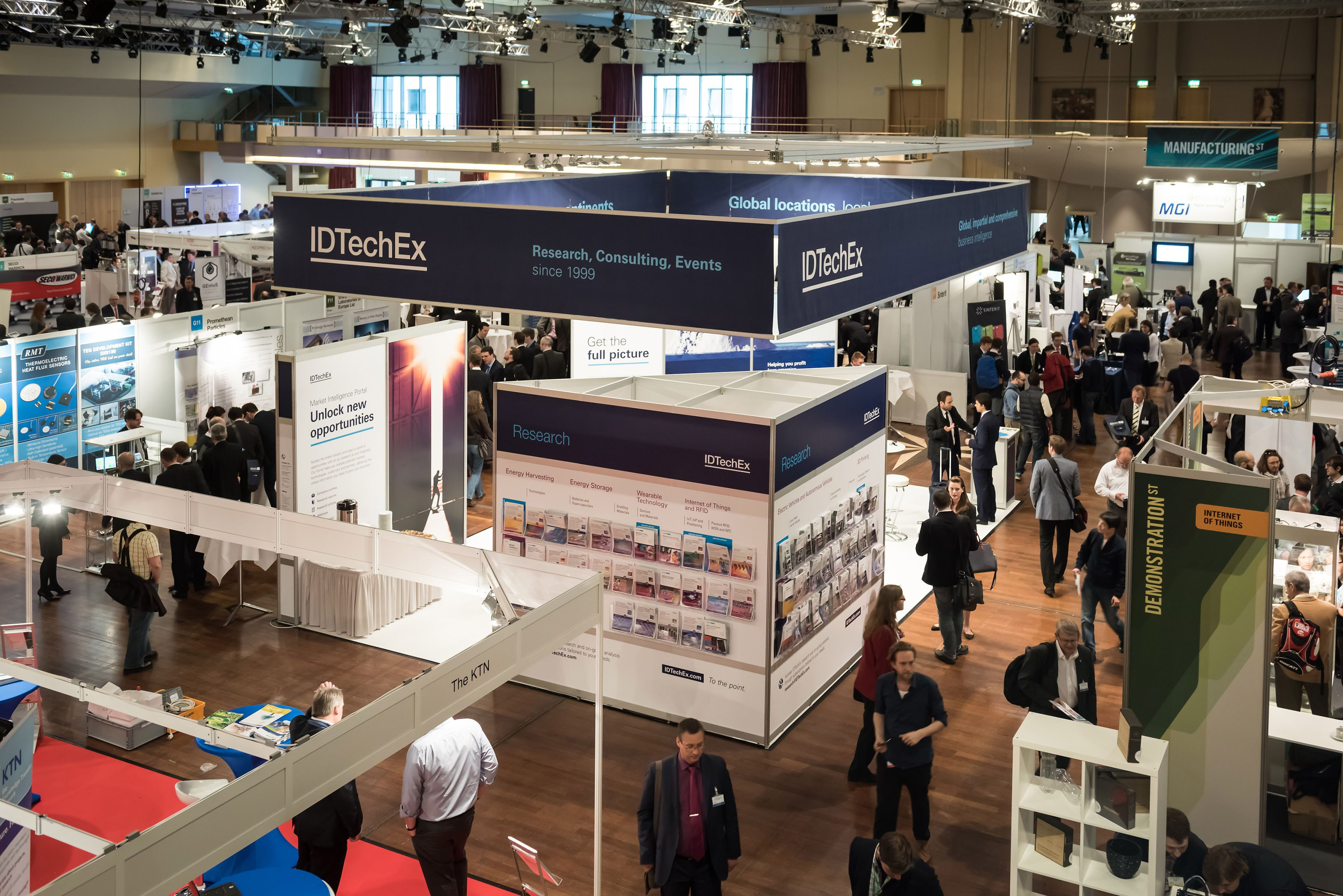 Start-ups can exhibit free of charge at IDTechEx Show! in Berlin