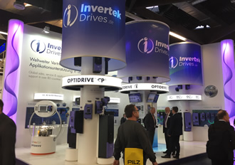 SPS IPC Drives to see Invertek for the eighth time