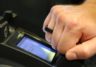 Infineon security chips enable world's first NFC payment ring