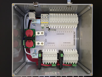 Solar industry's first rapid shutdown combiner box