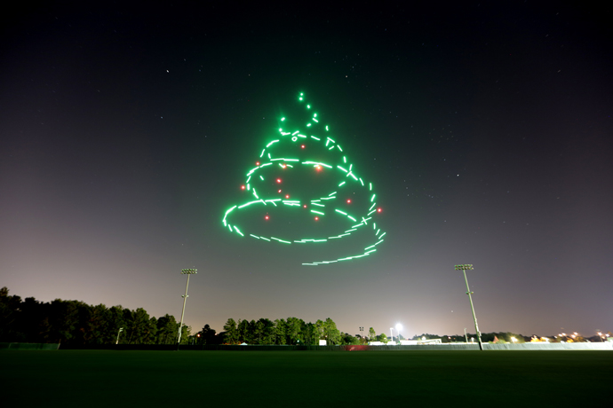Starbright Holidays Christmas Tree Drones