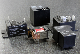 30-50A relays feature heavy contact load and HP ratings