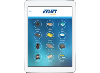 KEMET introduces electronic components app for android