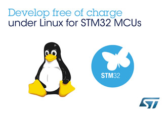 Free embedded development on STM32 MCUs