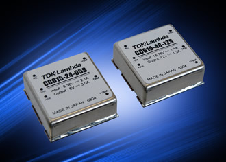 DC/DC converters have six-sided shielding