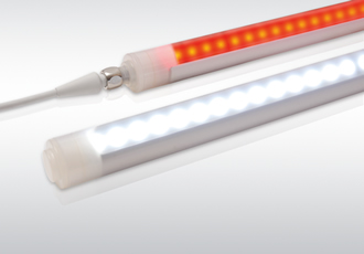 LED strip lights feature UV-stabilised polycarbonate shell