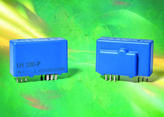 Current transducers measure 25 to 100A DC, AC or pulsed