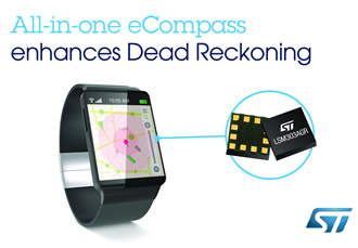 eCompass enables superior indoor & undercover navigation