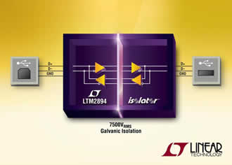 Hot Swappable I2C Isolator Enables Simple Interfacing