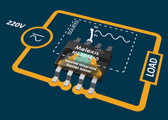 Current sensors provide sensitivity down to 26.7mV/A