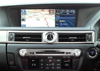 MOST50 networking devices implemented in the Lexus GS