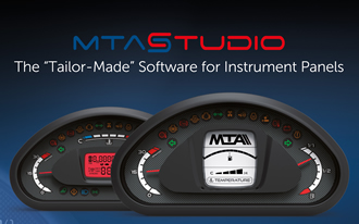 Customisable dashboards developed with MTA Studio