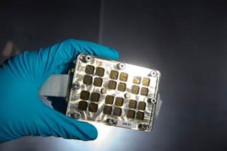Testing 'smart' antibacterial surfaces in space