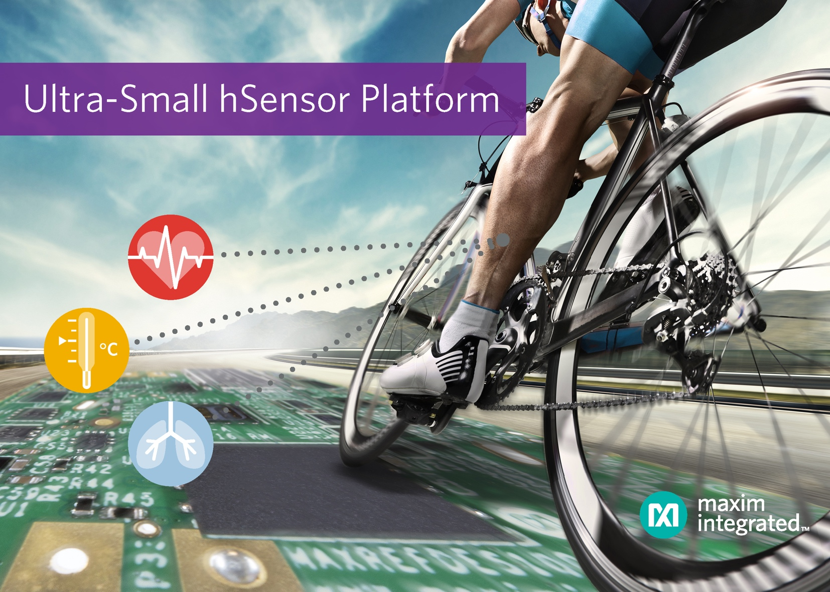 Sensor platform simplifies design of wearable applications
