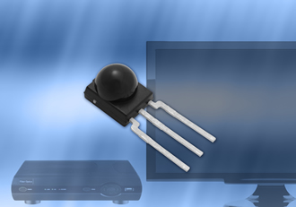Miniature IR receivers offer improved RF noise rejection