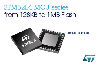 MCUs deliver energy efficiency in ARM Cortex-M4 Class