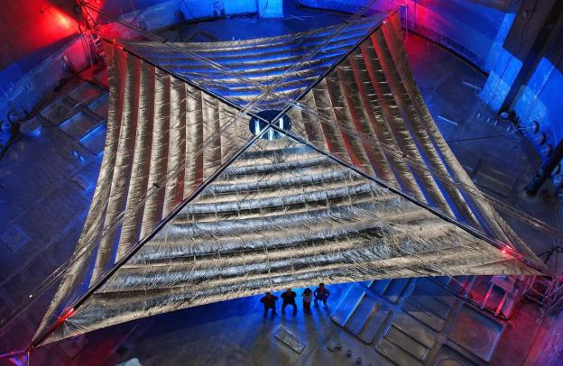NEA Scout: Solar sail deployment for asteroid-surveying