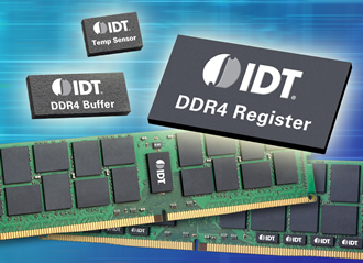 Memory interface devices qualified for DDR4 enterprise DIMMs