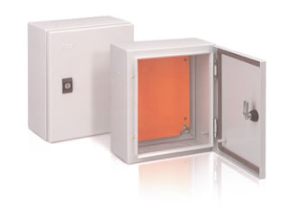 Maintenance-free steel enclosures designed to provide protection