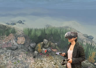 VR simulation transports users to ocean of the future