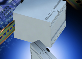 Snap-fit DIN-Rail instrument cases help speed products to market