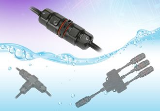 Waterproof connectors for field cable joining applications