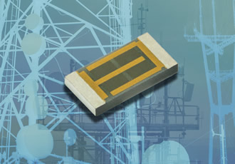 Thin film chip resistors deliver up to 6W in small sizes