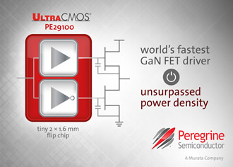 GaN FET driver is claimed to be the world's fastest