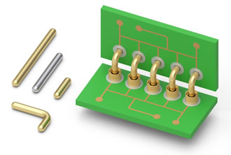Mill-Max expands its series of straight & right angle pins
