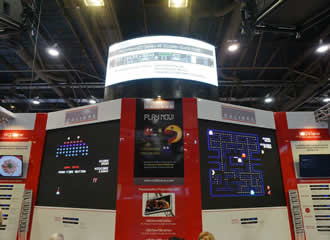 Calibre brings Pac-Man style arcade game to LED China 2016
