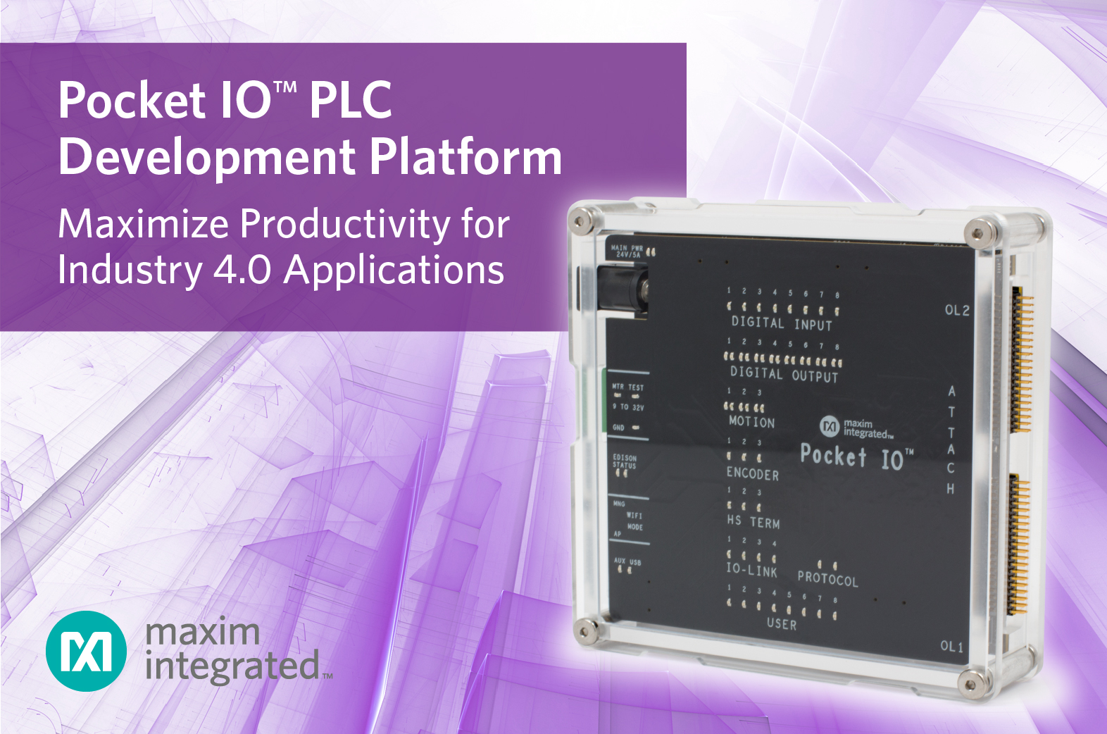 PLC provides intelligence for industry IoT