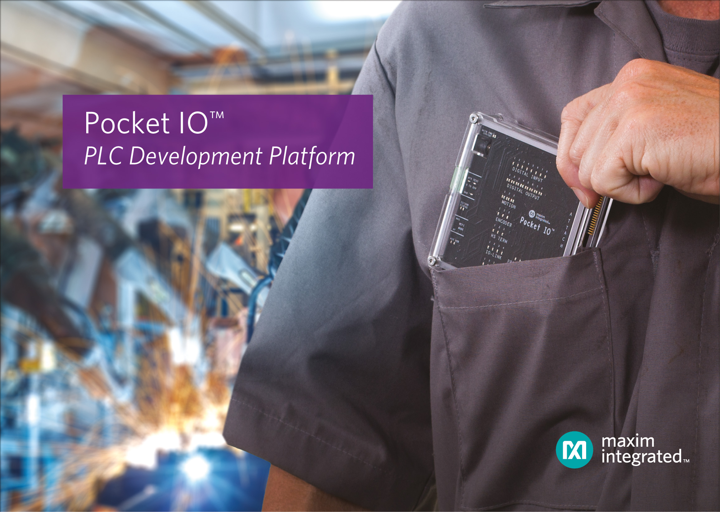 Industry 4.0 Applications with IO PLC Development Platform