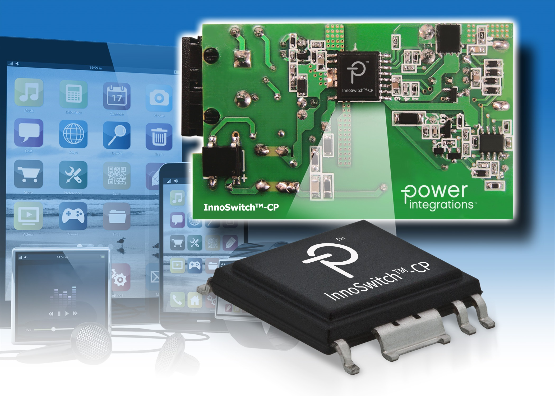 Charger interface IC is compatible with Qualcomm's Quick Charge 3 0