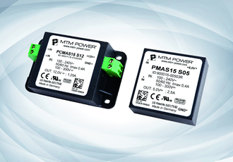 Primary switched AC/DC power modules suit worldwide use