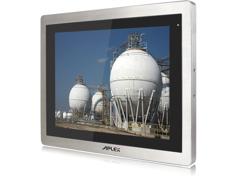 Stainless steel panel PC features IP65/IP69K protection