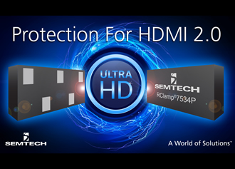 Robust ESD protection for highly sensitive HDMI 2.0 chipsets