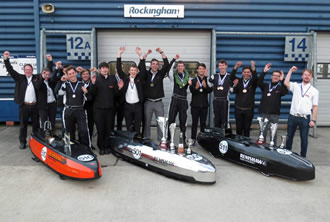 Renishaw apprentices race to success