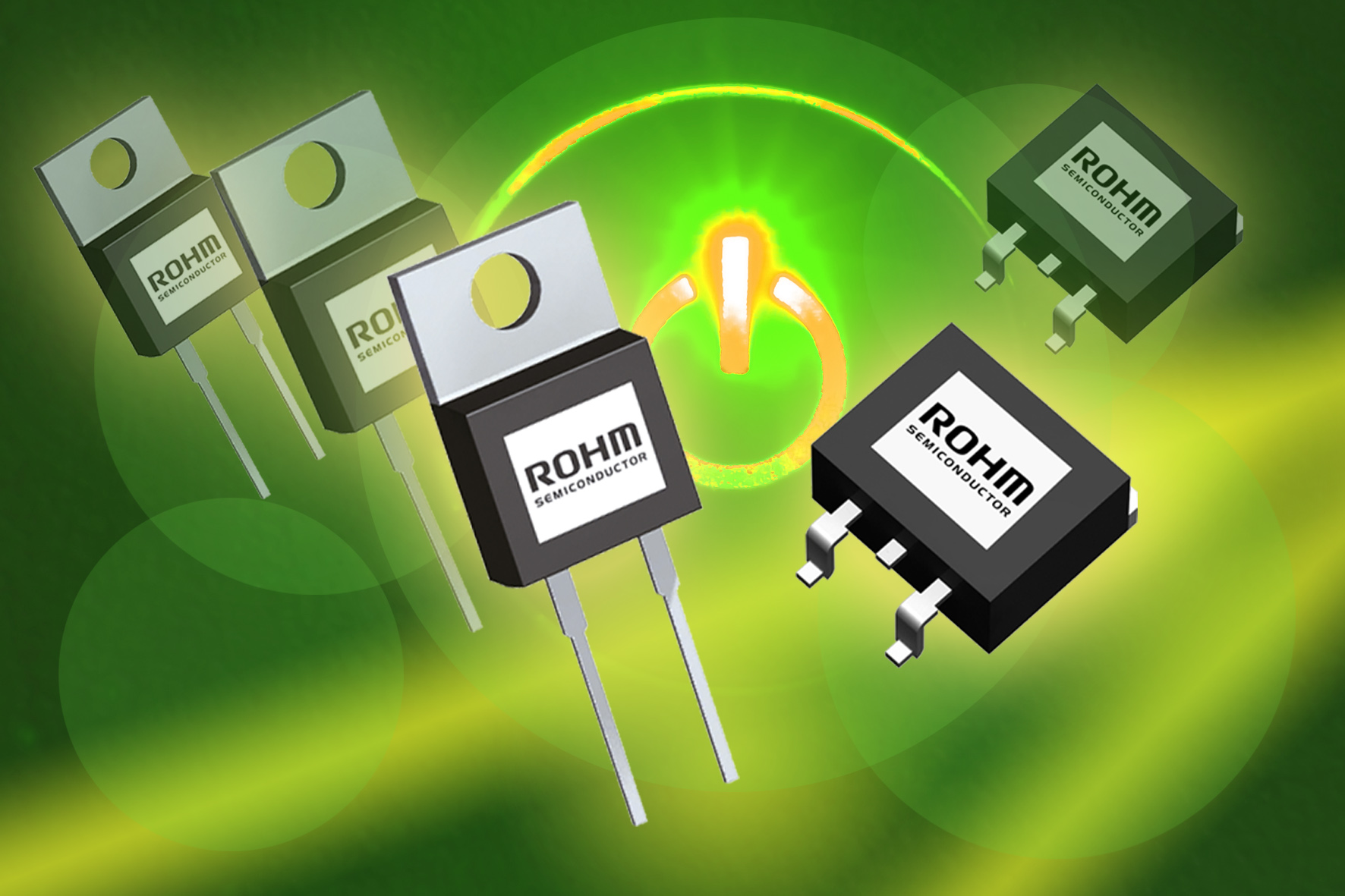 SiC Schottky barrier diodes boost power efficiency