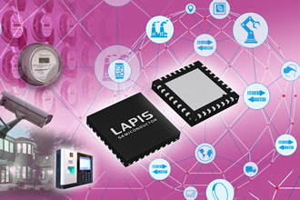 Wireless communication LSI compatible with smart meters